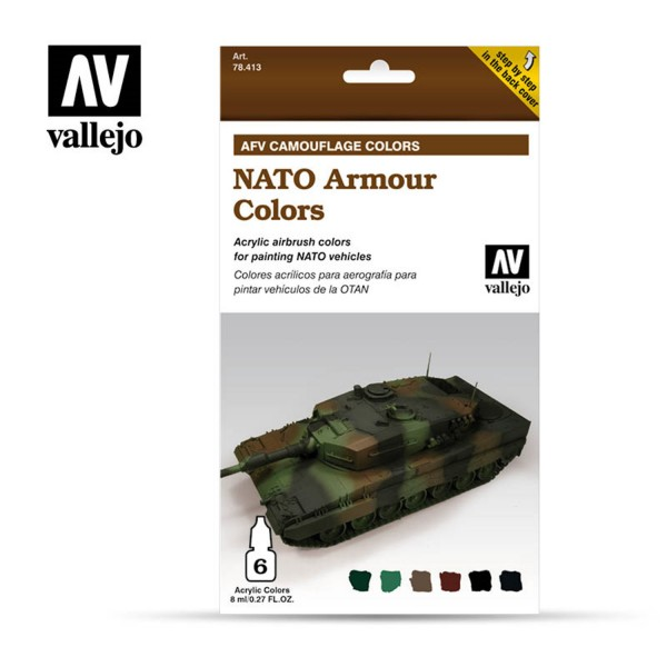 AFV Camouflage | Nato Armour