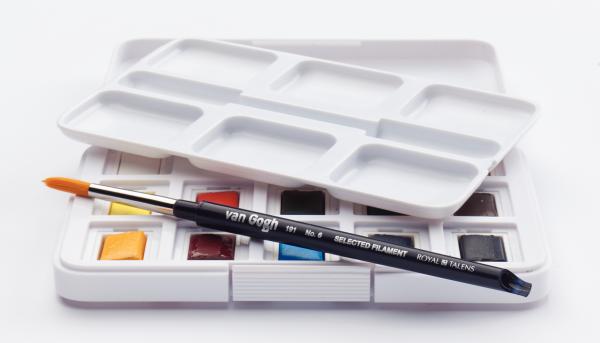 Pocket Box Basic | Pocket Aquarell Box | van Gogh Aquarellfarbe - Royal Talens