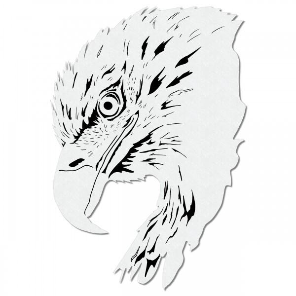 Adler Kopf | Airbrush Schablone Eagle Head Stencil A4
