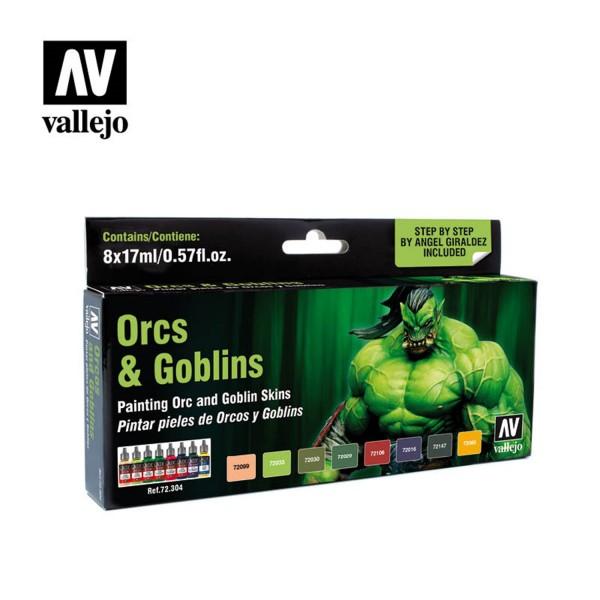 Orc & Goblins | Vallejo Effect Color Set