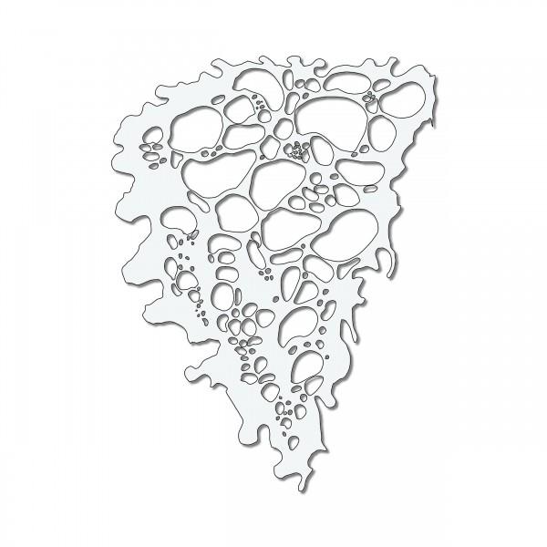 Bubble #2 | Blubber Blasen Airbrush Schablone ca.A4