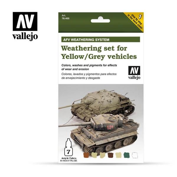 AFV Weathering | Yellow & Grey