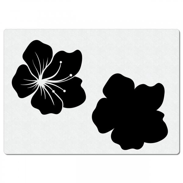 Blume - Blüten #02 | Airbrush Schablone