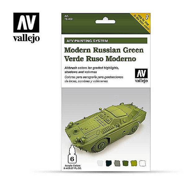 AFV Armour System | Modern Russian Green