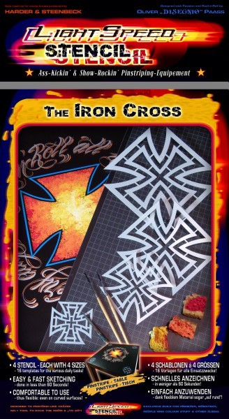 LightSpeed Stencil | Iron Cross-Image