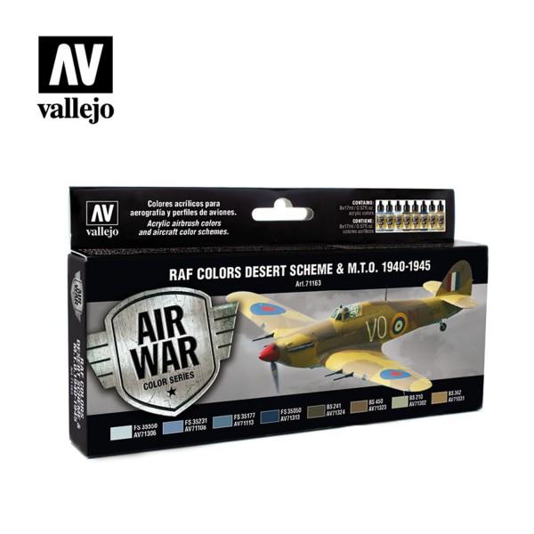Air War   RAF Colors Desert Scheme & M.T.O. 1940-1945
