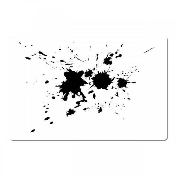 Splash #5 | Effekt & Textur Airbrush Schablone ca. A5