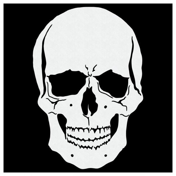 Skull #5 | Airbrush Schablone Totenkopf Schädel ca. A5