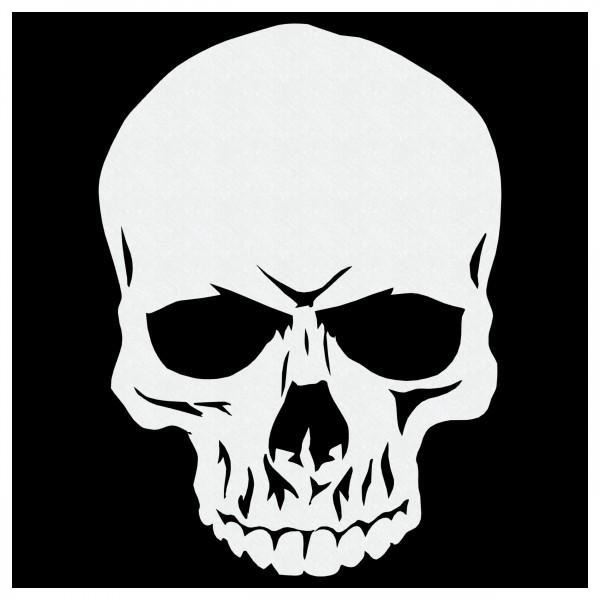 Skull #55 | Totenkopf Airbrush Schablone | ca. 16 x 22cm