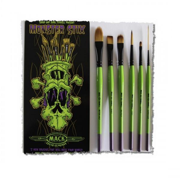Mack| Tidwell | Monster Stix Brush Set | 7pcs-Image