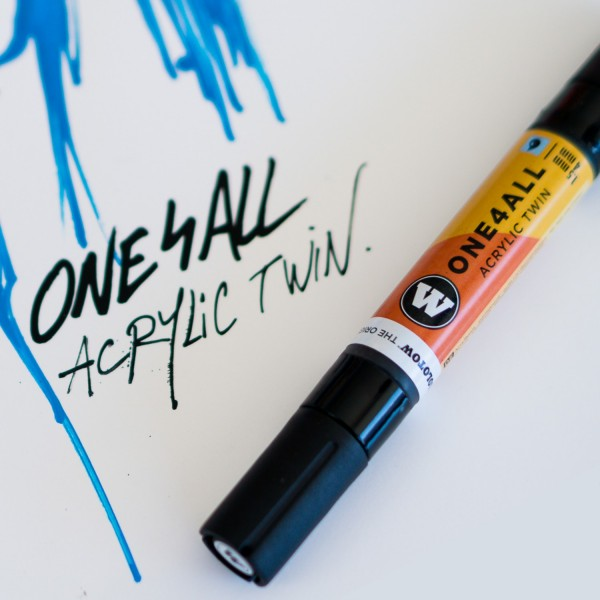 1,5mm - 4mm TWIN Marker SETs | ONE4ALL™ Molotow Marker