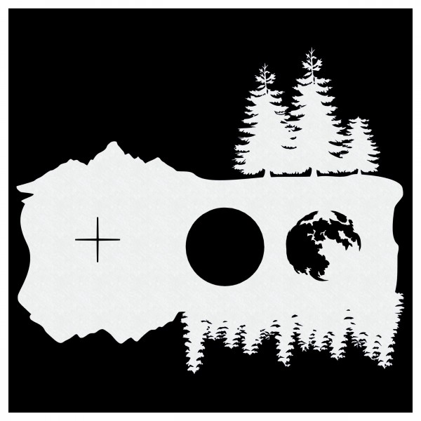 Wald | Airbrush Schablone | 22x 20cm