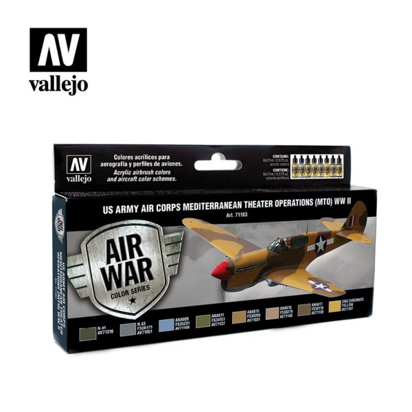Air War | US Army Air Corps (MTO) WWII