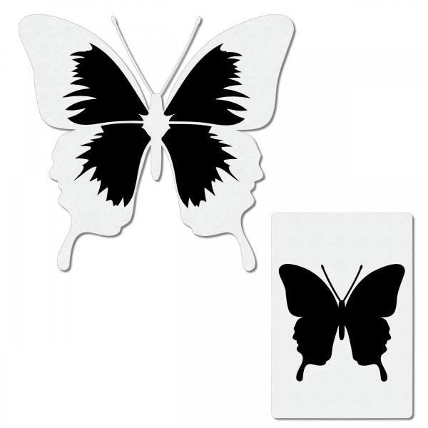 Butterfly #1   Schmetterling Airbrush Schablone ca. A6
