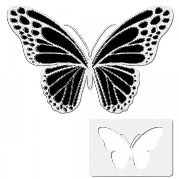 Butterfly #4 | Schmetterling Airbrush Schablone Stencil A6
