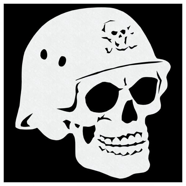 """Biker Skull"" | Totenkopf Airbrush Schablone A5"