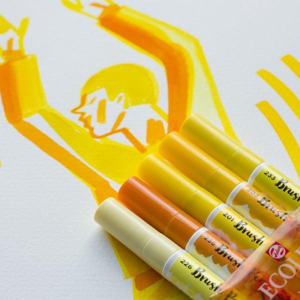 Ecoline Brush Pen | 5er Set, verschiedene Serien