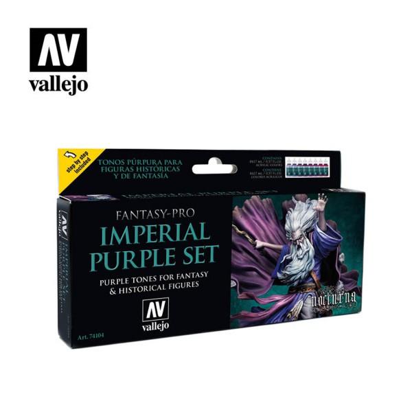 Imperial Purple | Vallejo Fantasy Pro Nocturna Set