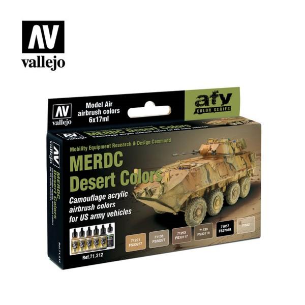 AFV Color | MERDC Desert Colors