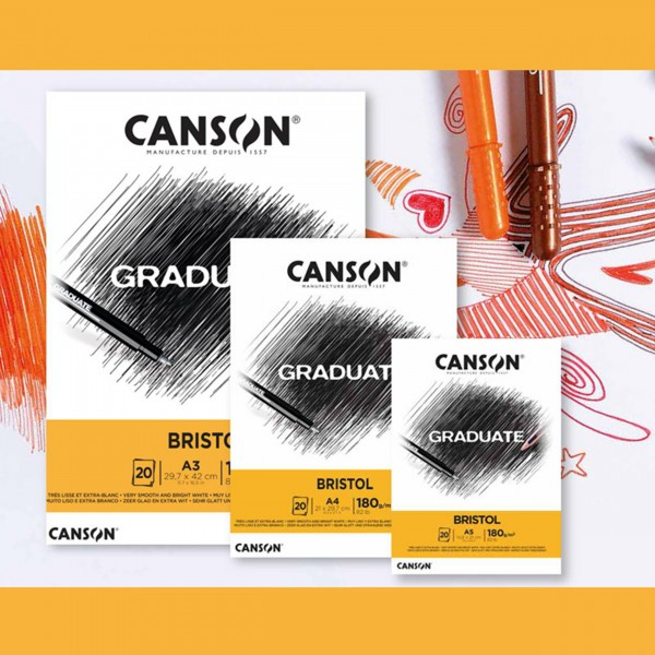Bristol 180gr. | Graduate Serie by Canson