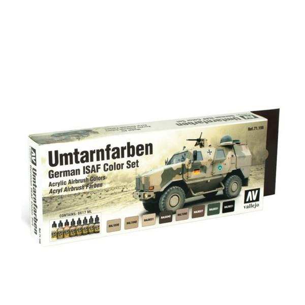 AFV Color | Umtarnfarben | German ISAF