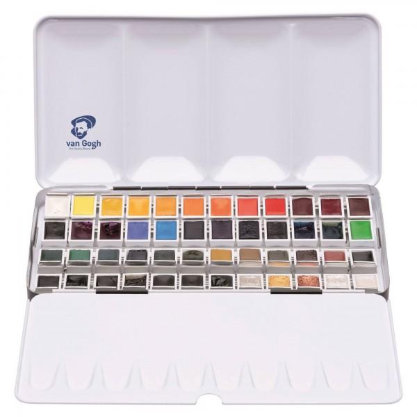 van Gogh Aquarellfarben | Metall Box Auswahl