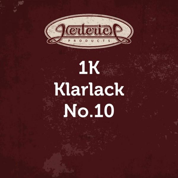 No.10 | 1K-Klarlack