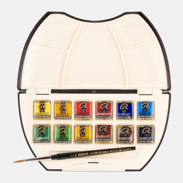 POCKET Box Luxury | Rembrandt Aquarellfarben | Royal Talens
