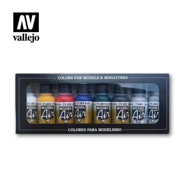 8er Basis Set | Vallejo Model Air