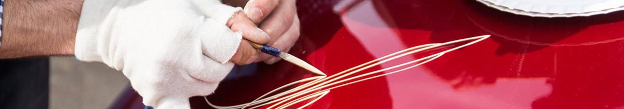 Pinstriping - eine Kunstform der Linien