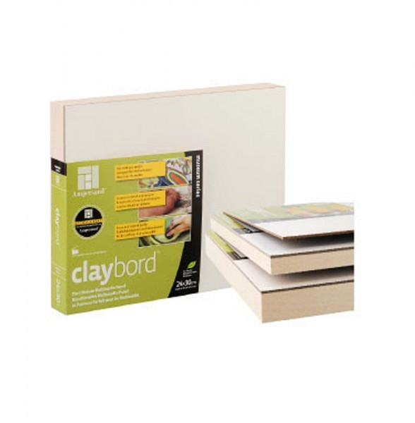 Clayboard 3mm | 40 x 50cm-Image