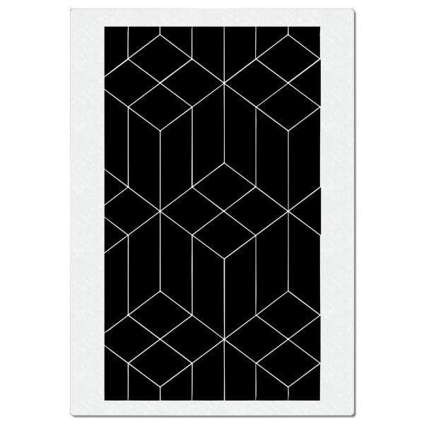 Hexagons Geometrie | FX Airbrush Schablone A4