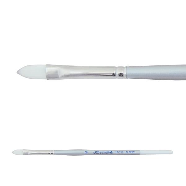 Silverwhite 1503S | Filbert, kurzer Stiel