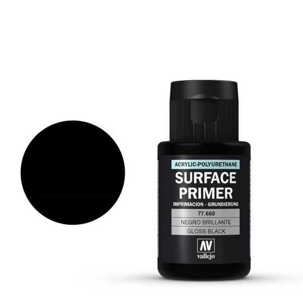Gloss Black Primer 660 | Vallejo