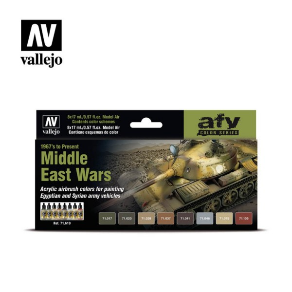 AFV Color | Middle East Wars (1967´s to Present)