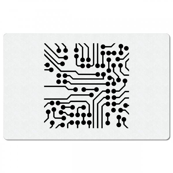 Schaltkreise | Airbrush Schablone ca. 20 x 13cm