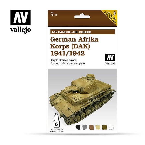 AFV Camouflage | German Afrika Korps (DAK) 1942-1944