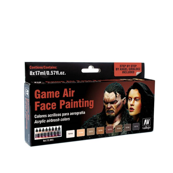 Vallejo Game Air | Face Painting