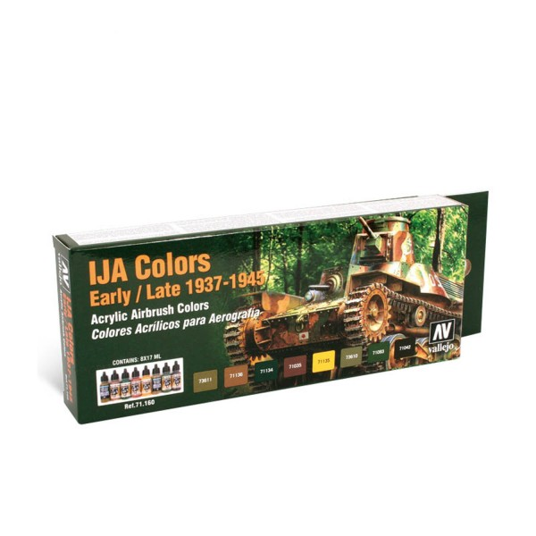 AFV Color | IJA Colors Early/Late (1939-1945)