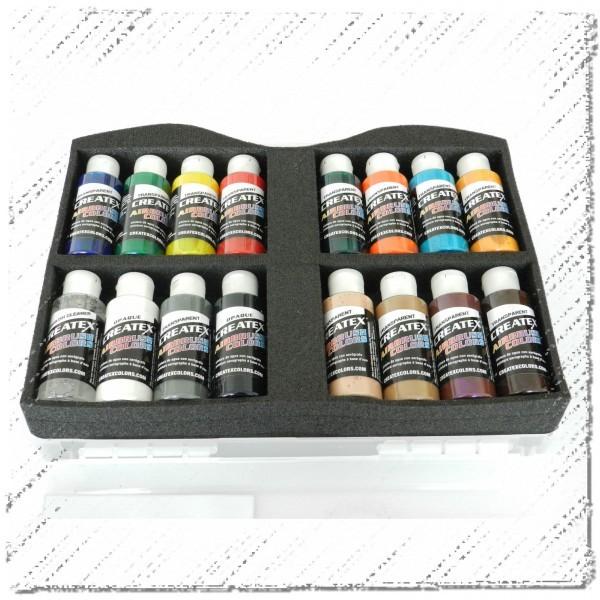 Createx Color   Farbkoffer Starter Transparent-Image