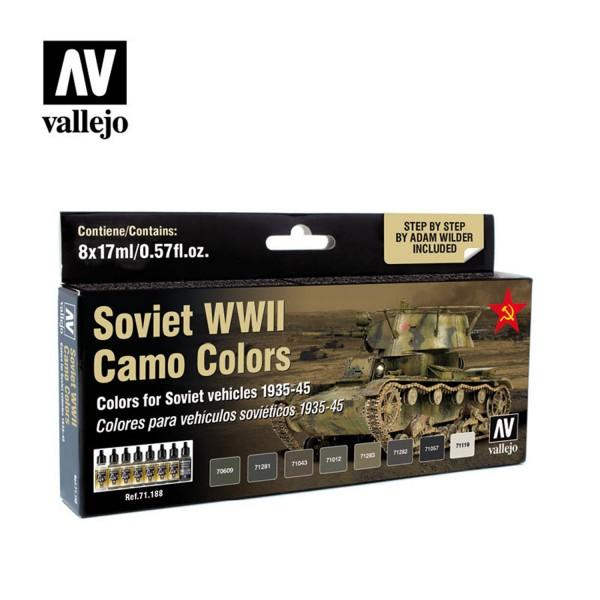 AFV Color | Soviet WWII Camo Colors 1935-1945