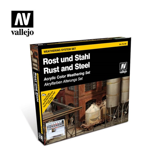 Rust & Steel | Vallejo Effects