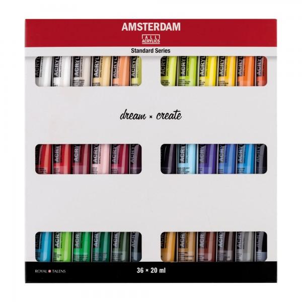 AcrylfarbenSet Amsterdam | 36x 20ml