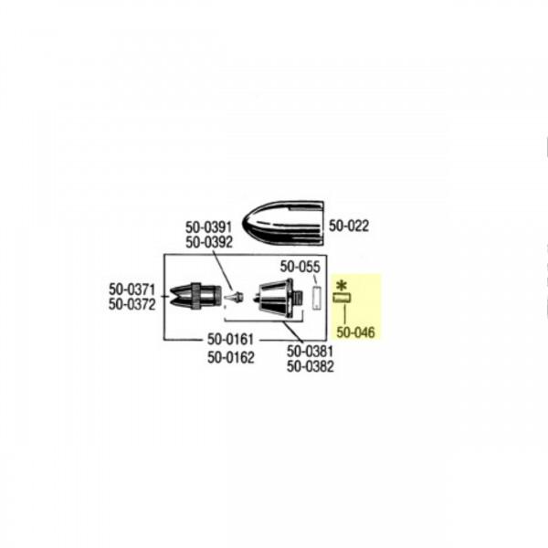 Nadeldichtung PTFE   50-046