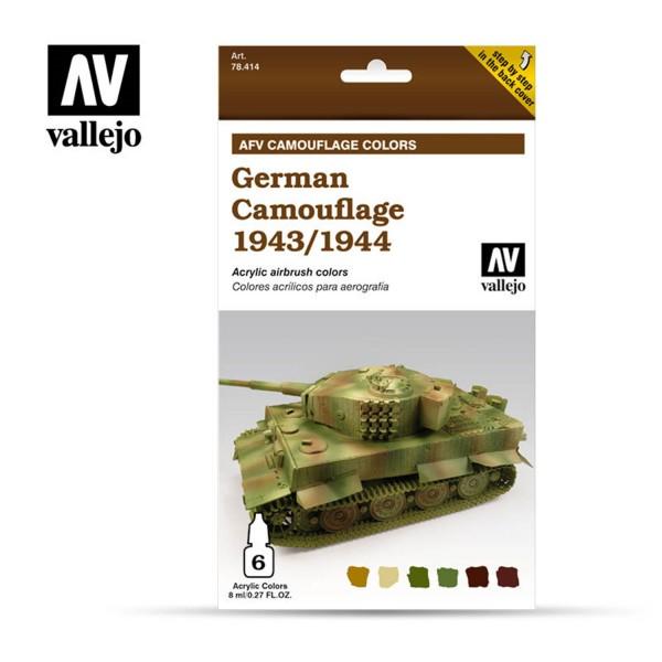 AFV Camouflage | German 1942/1944