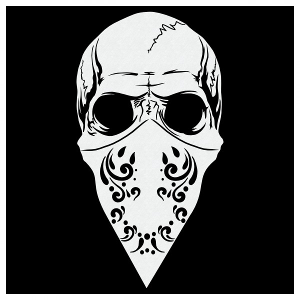 """GANGSTA Skull"" | Totenkopf Airbrush Schablone A4"