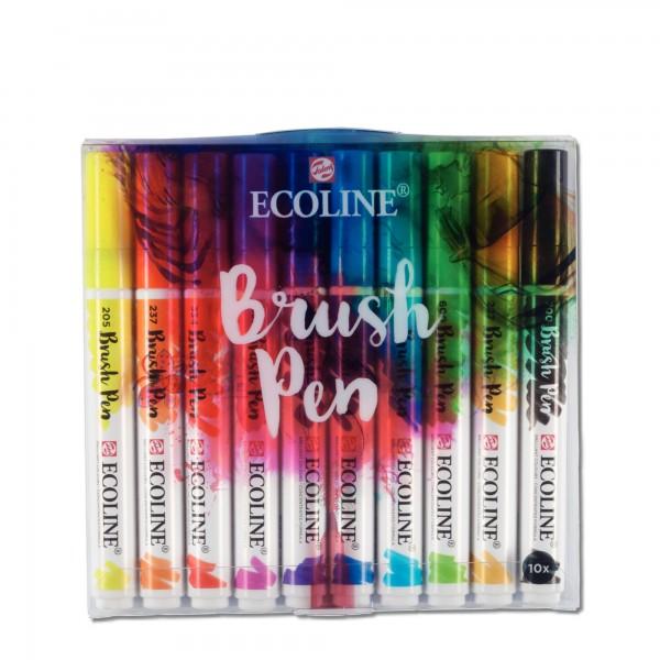 Ecoline Brushpen | 10er Farbset