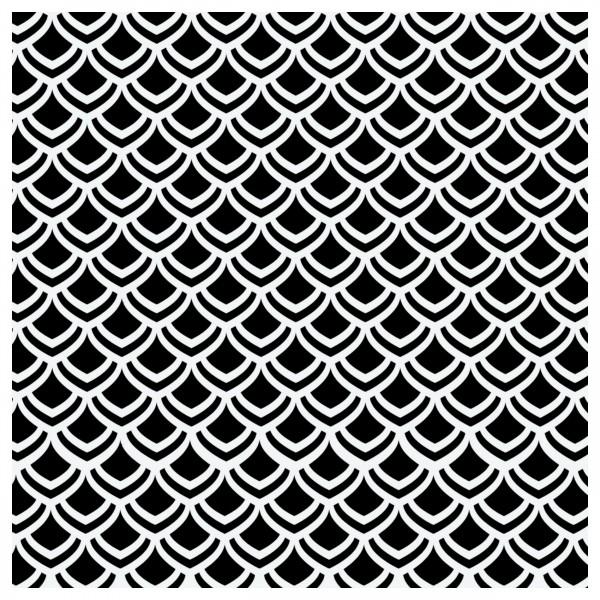 Schuppen Struktur #1   Airbrush Schablone Strukturen