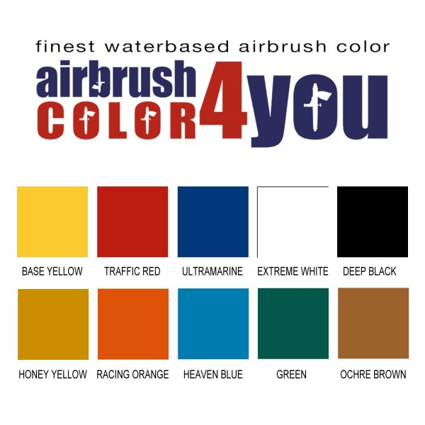 Basic Set 10+2 | AirbrushColor4you