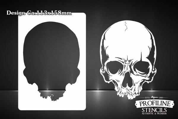 Skull #51 | Airbrush Schablone Totenkopf Schädel - Skull Stencil A5